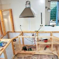meuble cuisine diy fabriquer des meubles de cuisine avec des palettes en bois
