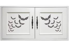 amazon com halloween bats stencil size 14 5