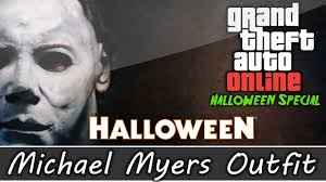 gta 5 online halloween special michael myers and