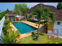 modern 3 bedroom house with pool for sale in bang saray pattaya