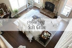 Area Rug Size Area Rug Size Guide Farmhouse 40