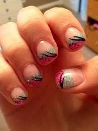 classy and elegant shellac gel nail design my nail art