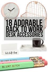 Desks Accessories 18 Desk Accessories That Ll Make Going Back To Work Way