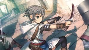 anime wallpapers girls sword fighting download wallpaper 1920x1080 girl warrior sword defense fight