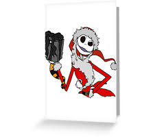 the nightmare before greeting cards by itsuko redbubble
