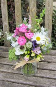 wedding flowers jam jars isle of bute wedding mayfield flowers