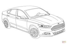 2015 ford fusion coloring page free printable coloring pages