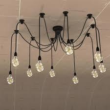 edison chandelier 3d objects pinterest edison chandelier