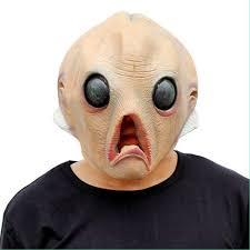 2017 new halloween evening cream mask alien halloween masks