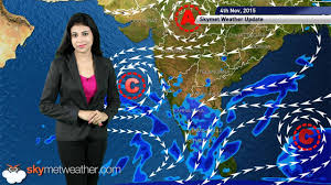 India Weather Map by Weather Forecast For November 04 2015 Northeast Monsoon Active