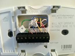 install honeywell wifi thermostat honeywell 6000 thermostat wiring