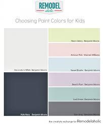 tips for choosing paint colors for children u0027s rooms kidsroom