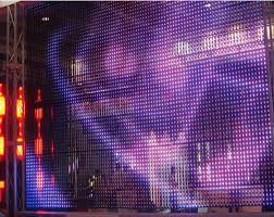 Curtain Led Display Outdoor Transparent Led Curtain Display Buy Transparent Led