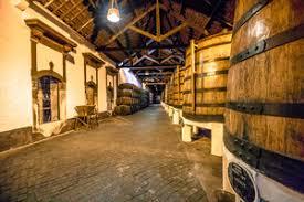 Wine Cellars Porto - modern aluminum barrels where grape juice is aged into wine