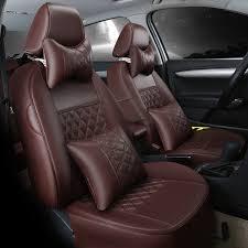 couvre si es auto personnaliser siège de voiture automobile couvre en cuir coussin