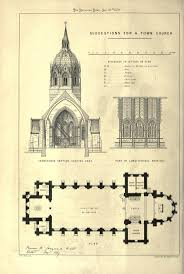 123 best gothic churches u0026 cathedrals floor plans drawings
