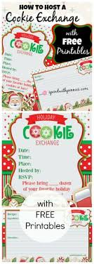 cookie exchange invitation template free free
