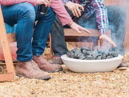 how to make a concrete fire bowl hgtv