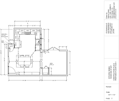 Bathroom Addition Floor Plans by Cad Drawings Valerie Lasker Design
