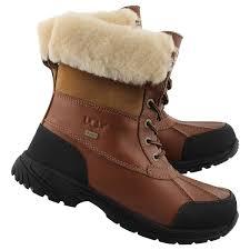 s waterproof winter boots australia ugg australia s butte sheepskin waterproof winter boot ebay