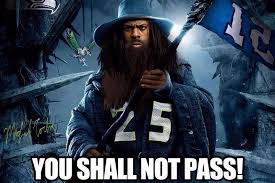 Gandalf Meme - seahawks richard sherman photoshopped as gandalf from the lord of