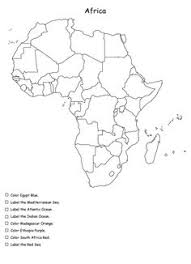 africa shape poem plus other activities and worksheets bigger
