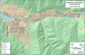 Colorado River Map by Snake River Wastewater Treatment Plant Summit County Co