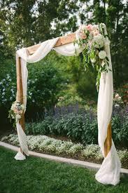 wedding arches plans a summer country club wedding in santa barbara california woods