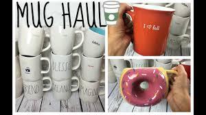 huge mug haul rae dunn more youtube