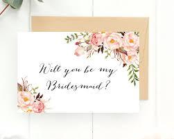 bridesmaid invite will you be my bridesmaid bridesmaid bridesmaid card