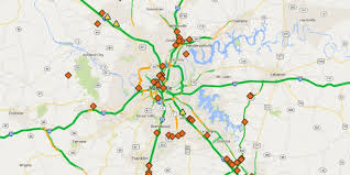 Nashville Airport Map Improved Smartway Map Guides Tennessee Motorists