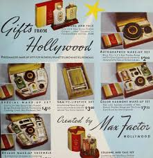 1934 christmas makeup tricks by max factor glamourdaze