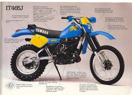yamaha motocross bikes 1982 yamaha it465 vintage dirt pinterest yamaha dirt