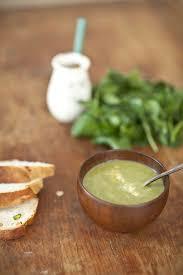 comment cuisiner le cresson soupe de queues de cresson et blanc aux pistaches