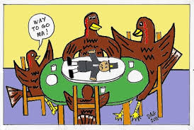 turkey thanksgiving dinner by carl d agostino i i made you