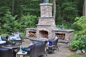 Rock Patio Designs Outdoor Rock Fireplace Designs Garden Design