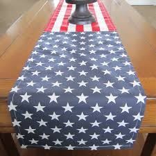 red and white table runner stars and stripes table runner fourth of july table runner