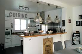 d馗oration cuisine ouverte decoration cuisine americaine salon en image deco maison ouverte