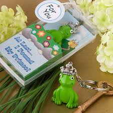 keychain wedding favors frog prince keychain wedding favors
