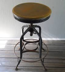 Heavy Duty Tall Drafting Chair by Vintage Drafting Stool Toledo Metal Furniture Company Industrial