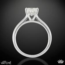 Solitaire Wedding Rings by Caroline Solitaire Engagement Ring For Princess Cut Diamonds By