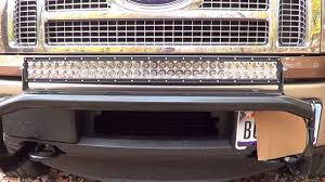 30 led light bar combo rigid industries e series 30 led light bar review youtube