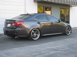 2012 lexus is 250 custom exact motorsports exclusive is f custom finned diffuser by exact