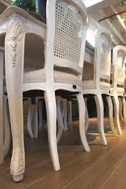 dining rooms cool antique white dining chairs inspirations