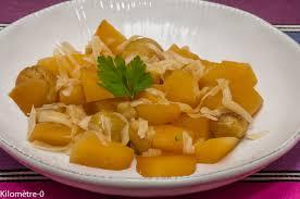 chataignes recettes cuisine poêlée de rutabaga aux châtaignes kilometre 0 fr