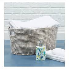 furniture his and hers laundry hamper pink wicker laundry basket