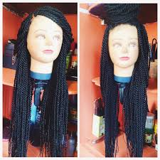 hair braid for a closure diy how to make braids wig with lace closure pictorial