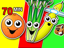 fruit u0026 veggies songs collection learn fruit vegetable names