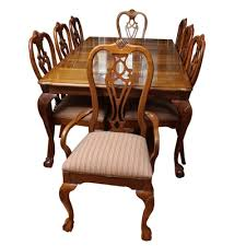 Dining Chairs Atlanta Vintage Dining Furniture Auction Antique Dining Furniture For