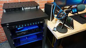 awesome gaming setup rack review jibeworks youtube